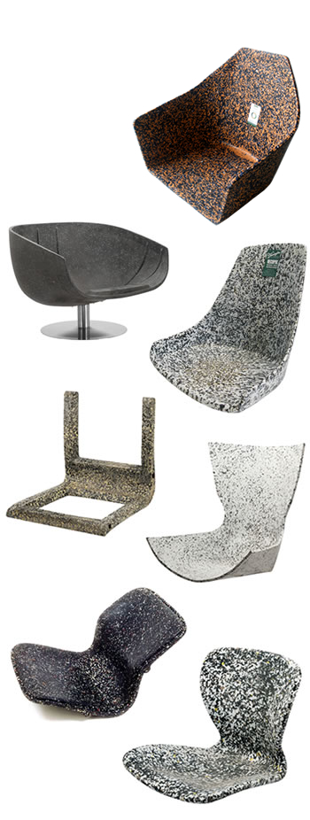 Recopol Recycled Plastic Internal Chair Mouldings